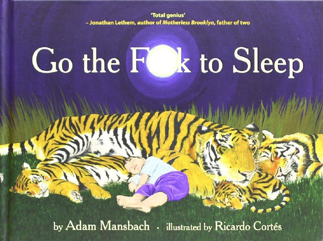 GO THE FUCK TO SLEEP BOOK