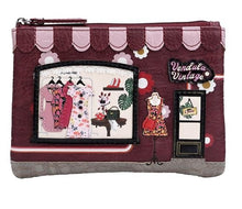 Load image into Gallery viewer, VENDULA LONDON VINTAGE ZIP COIN PURSE
