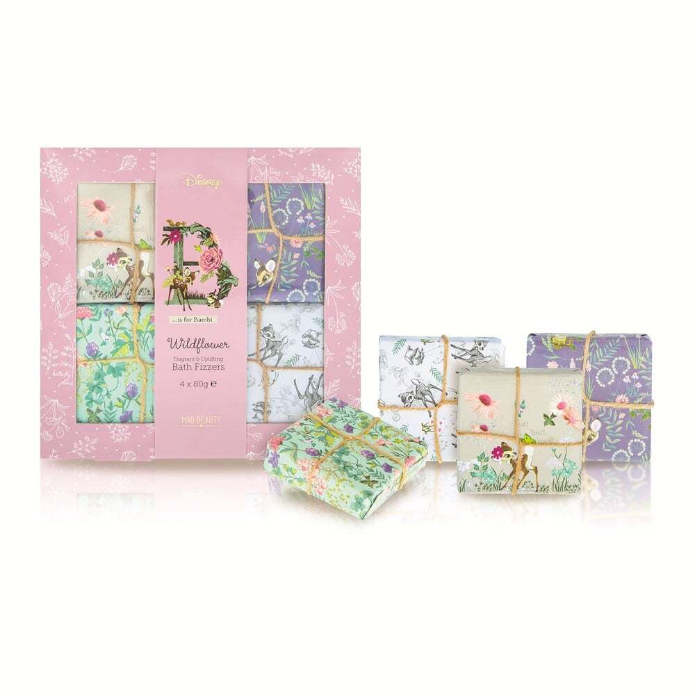BAMBI BATH FIZZER 4 PIECE SET.