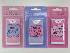 MAD BEAUTY HAND SANITISER SPREAD LOVE, NOT GERMS
