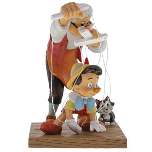 DISNEY ENCHANTING COLLECTION LITTLE WOODEN HEAD PINOCCHIO