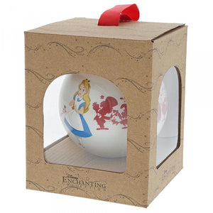 DISNEY ENCHANTING BAUBLE - ALICE IN WONDERLAND