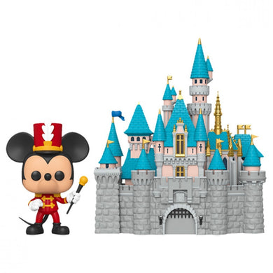 DISNEYLAND 65TH ANNIVERSARY FUNKO POP! VINYL MICKEY MOUSE & CASTLE