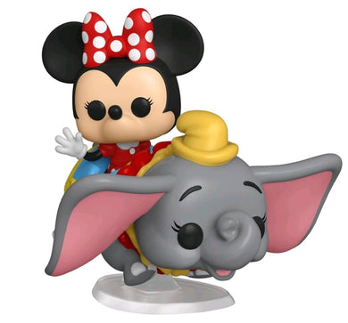 DISNEYLAND 65TH ANNIVERSARY FUNKO POP! VINYL MINNIE FLYING DUMBO