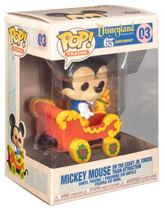 DISNEYLAND 65TH ANNIVERSARY FUNKO POP! VINYL MICKEY MOUSE TRAIN RIDE