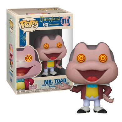 DISNEYLAND 65TH ANNIVERSARY FUNKO POP! VINYL MR TOAD