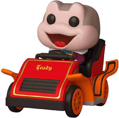 DISNEYLAND 65TH ANNIVERSARY FUNKO POP! VINYL MR TOAD IN CAR RIDE