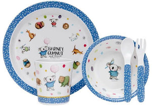 DINNER SET BARNEY GUMNUT & FRIENDS 5PC
