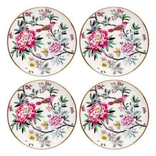 Load image into Gallery viewer, SIDE PLATES JARDIN PEONY SET OF 4