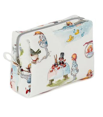 ALICE IN WONDERLAND MAKE UP BAG