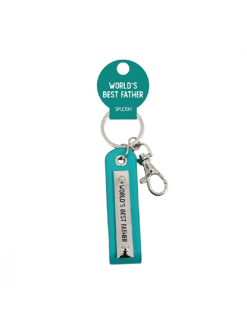KEYRING WORLD'S BEST FATHER