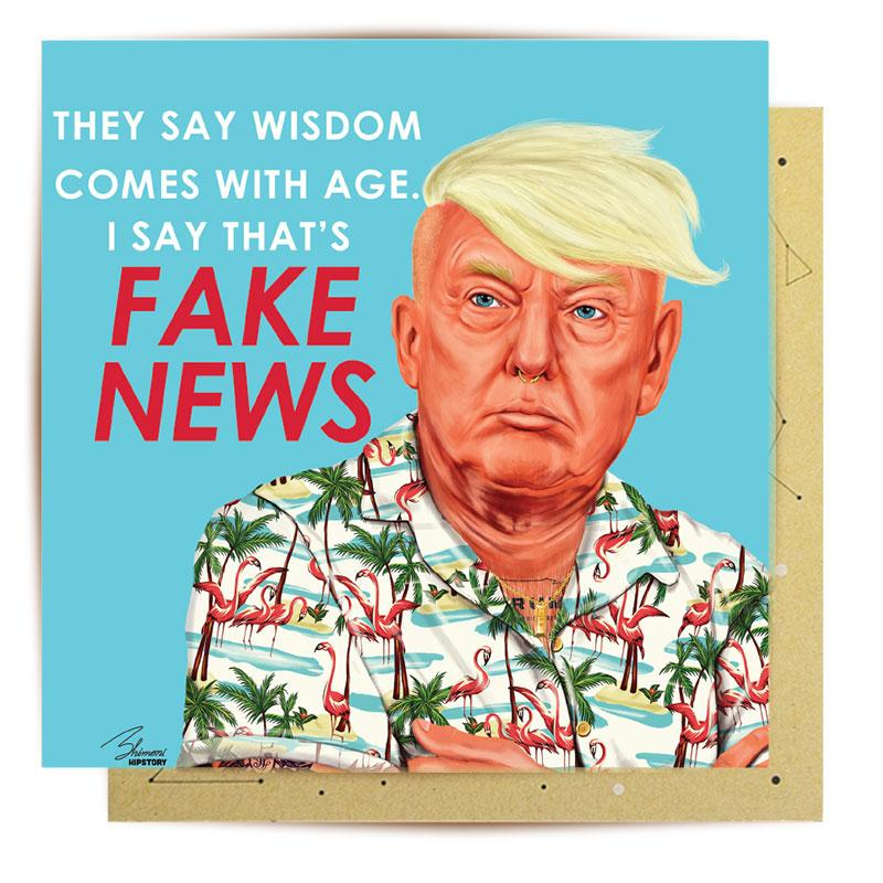GREETING CARD FAKE NEWS