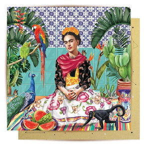 MINI GREETING CARD FRIDA'S PARADISE