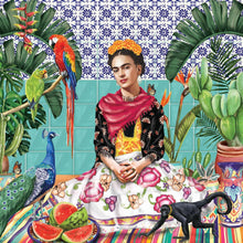 Load image into Gallery viewer, MINI GREETING CARD FRIDA'S PARADISE