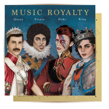 Load image into Gallery viewer, GREETING CARD MUSIC ROYALITY