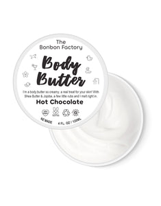 THE BON BON FACTORY BODY BUTTER HOT CHOCOLATE
