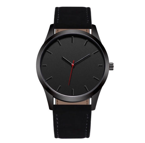 Blacked Out Wristwatch
