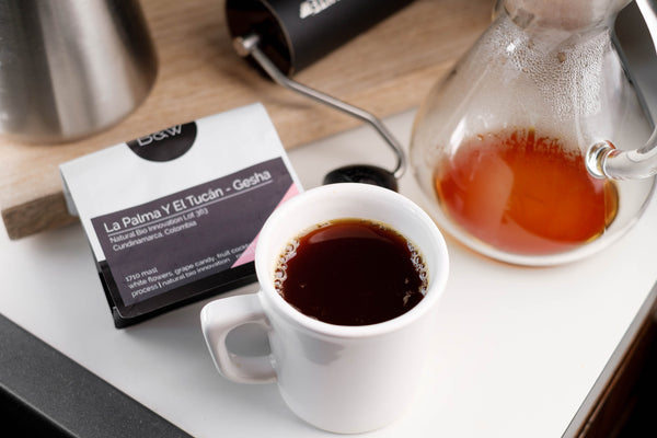 Featured Coffee: Black & White Roasters Colombia Gesha