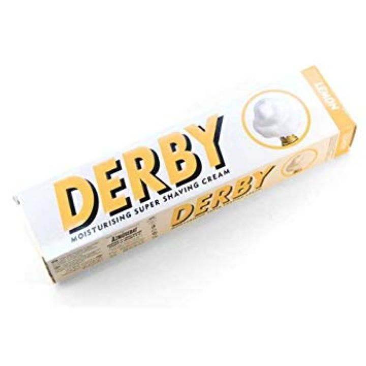 Derby Shaving Cream – Lemon, 100g Tube