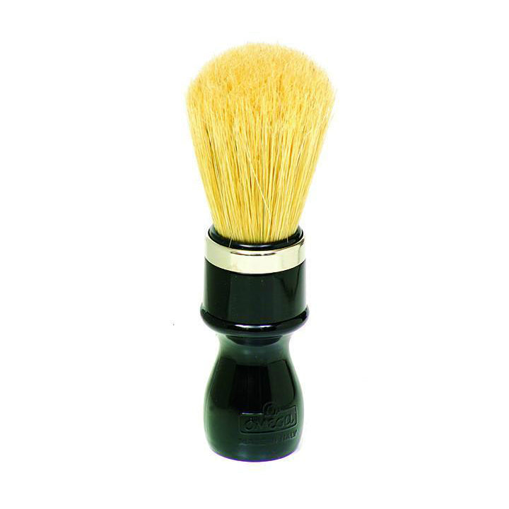 Omega 10098 Professional Black Handle Boar Shaving Brush