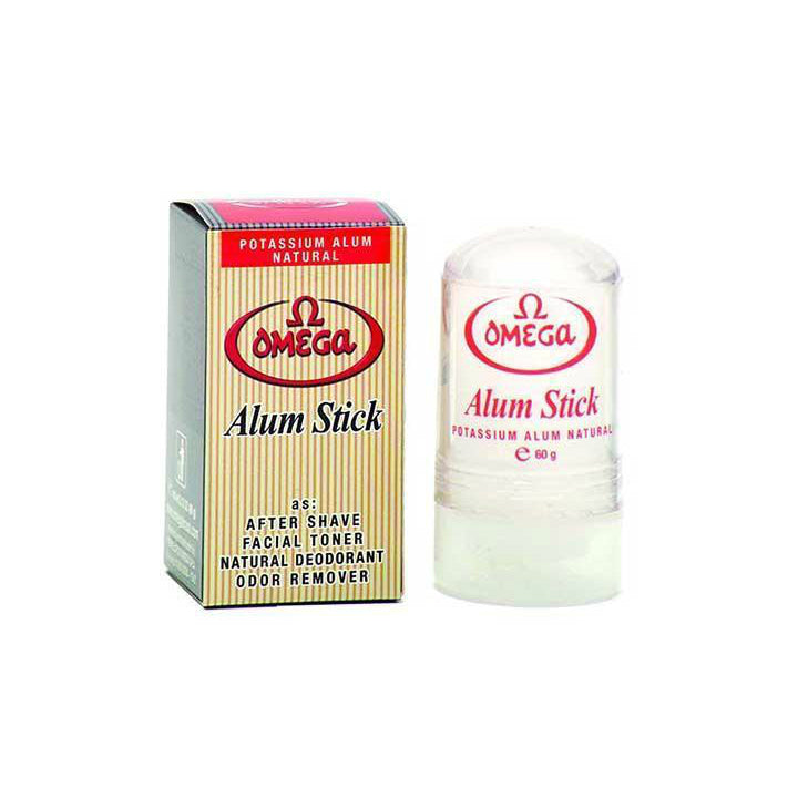 Omega Natural Alum Stick, 60g