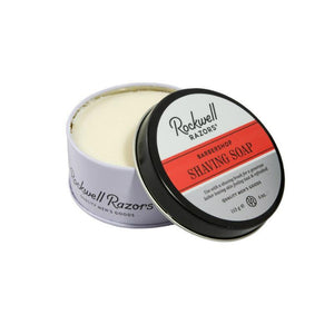 Rockwell Razors All Natural Shave Soap Barbershop Scent, 4oz