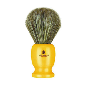 Vie Long 12750 Butterscotch Handle Horse Hair Shaving Brush