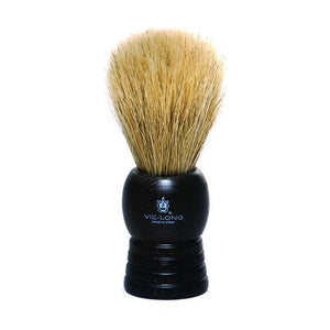 Vie Long 14095 Dark Wood Handle Horse Hair Shaving Brush