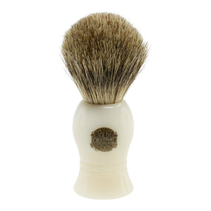 Progress Vulfix 22C Pure Badger White Handle Shaving Brush