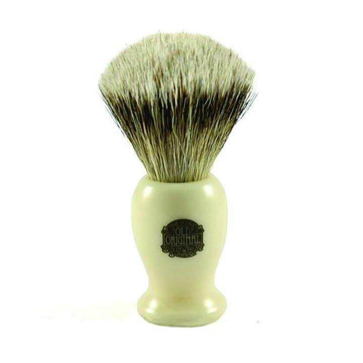 Progress Vulfix 660MEDC Pure Badger White Handle Shaving Brush