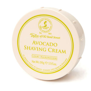 Taylor of Old Bond Street Avocado Shave Cream, 150g