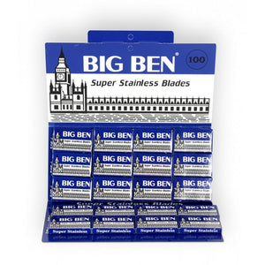 100 Big Ben Double Edge Razor Blades