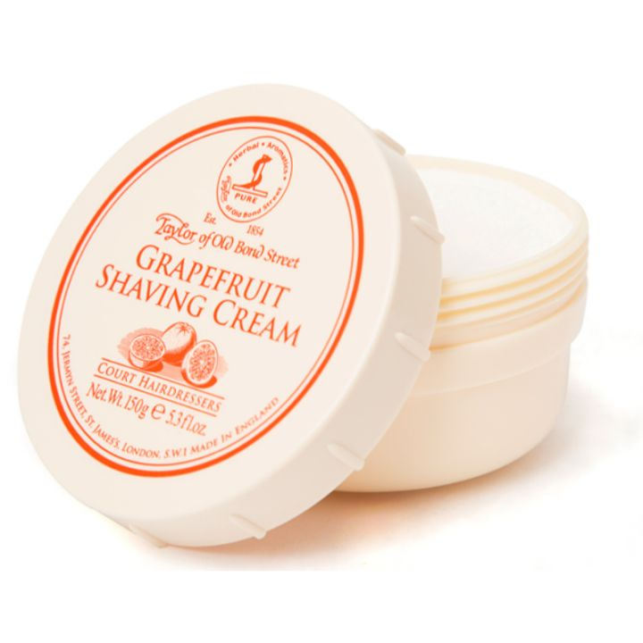 Taylor of Old Bond Street Grapefruit Shaving Cream, 150g