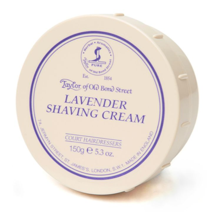 Taylor of Old Bond Street Lavender Shaving Cream, 150g