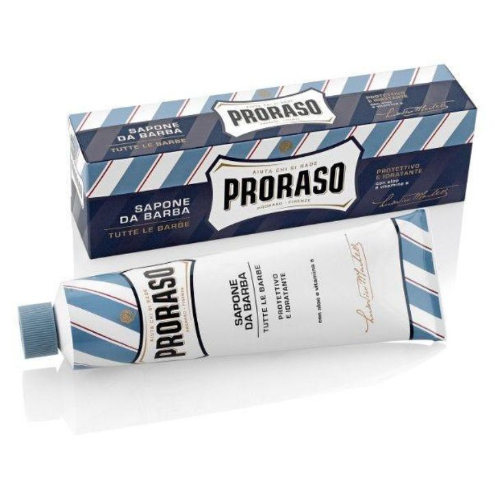Proraso Aloe and Vitamin E Shaving Cream, 150ml Tube