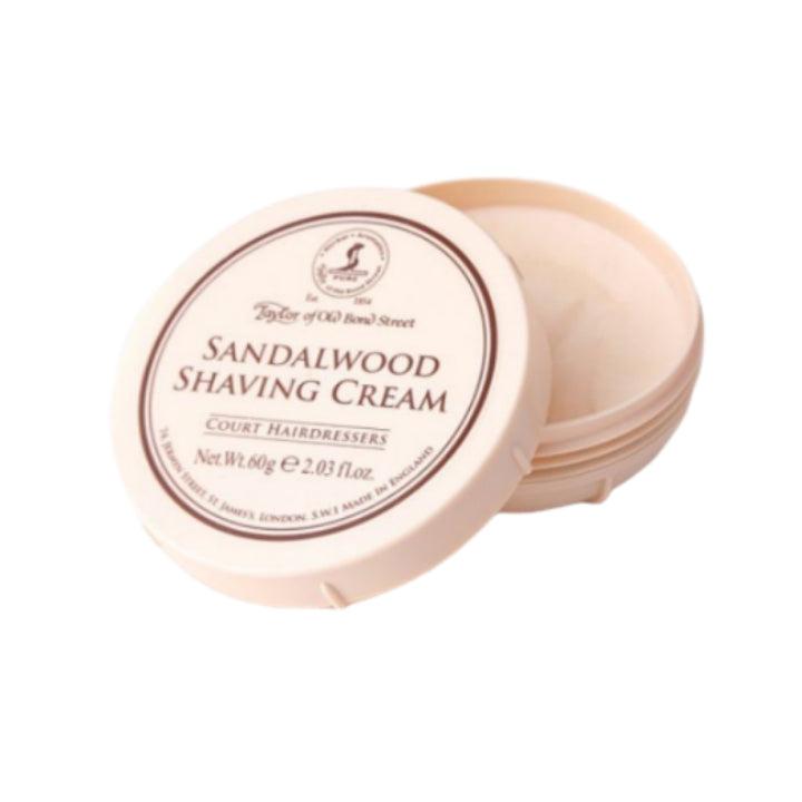 Taylor of Old Bond Street Sandalwood Shaving Cream, 60g
