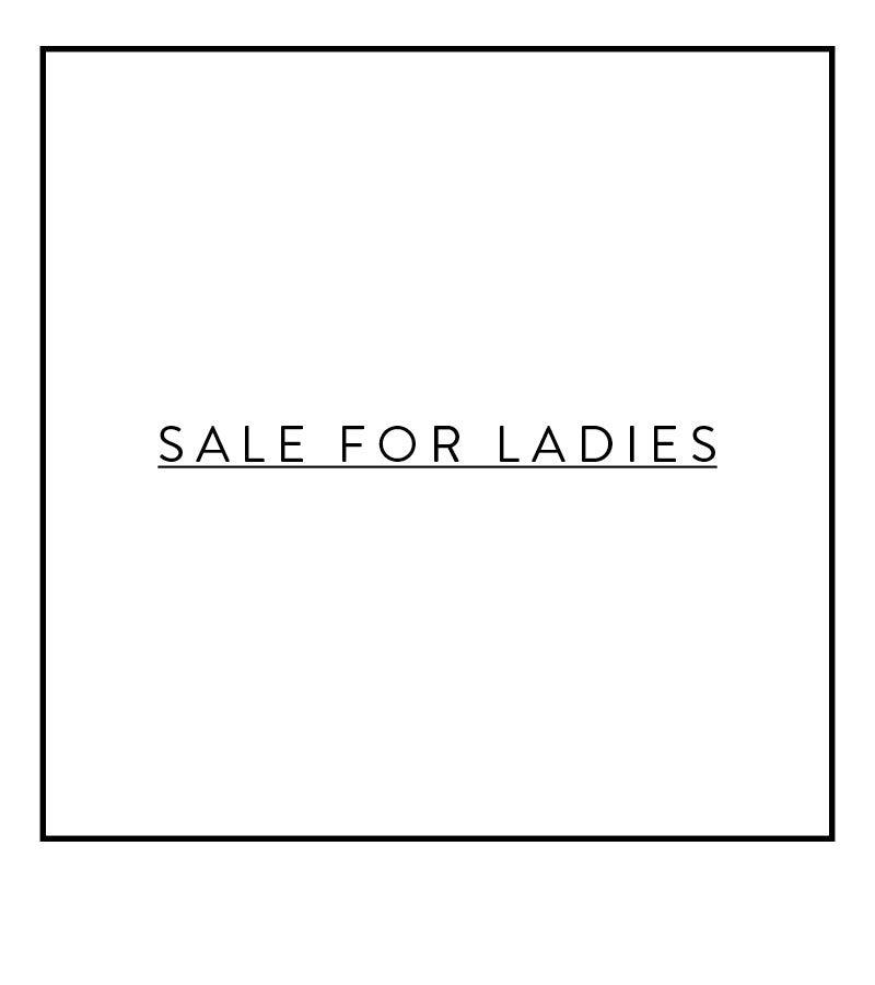 sale for ladies
