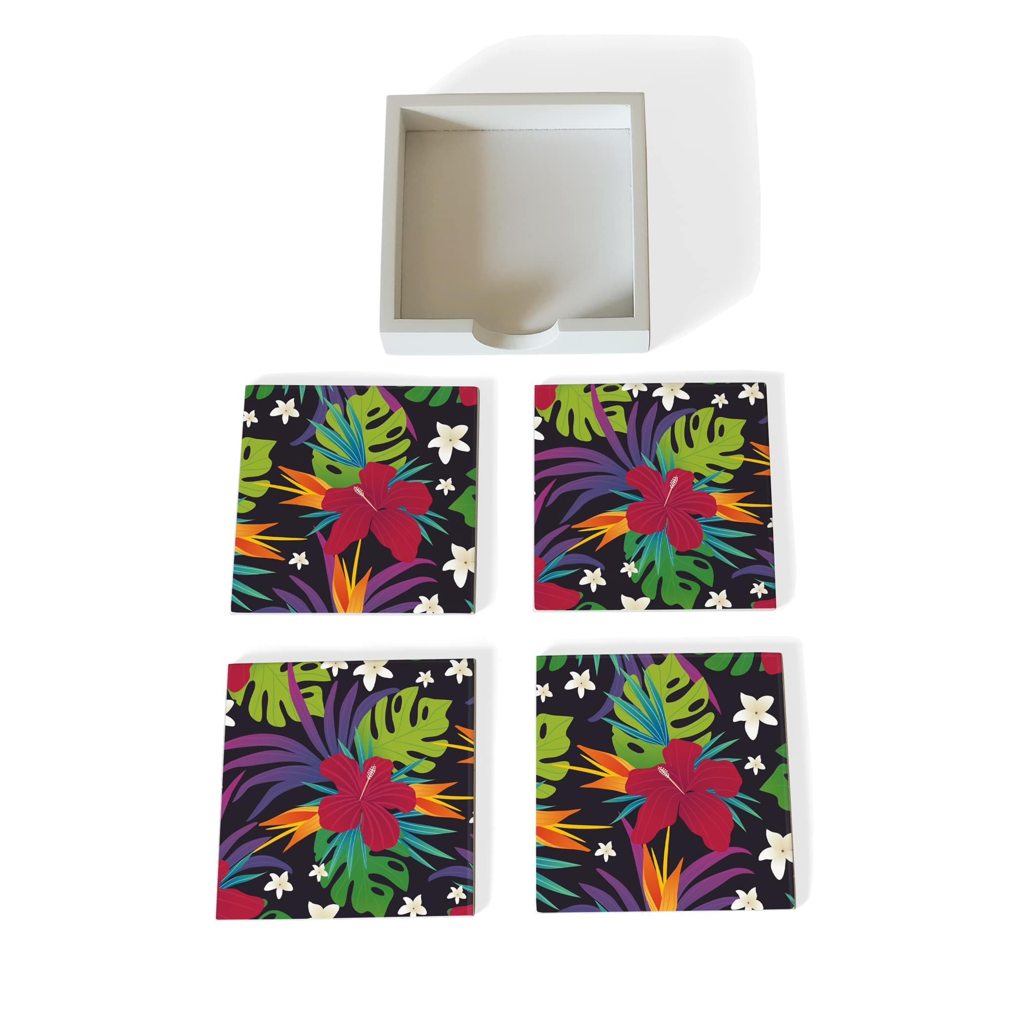 Hawaii Coaster Set with Box