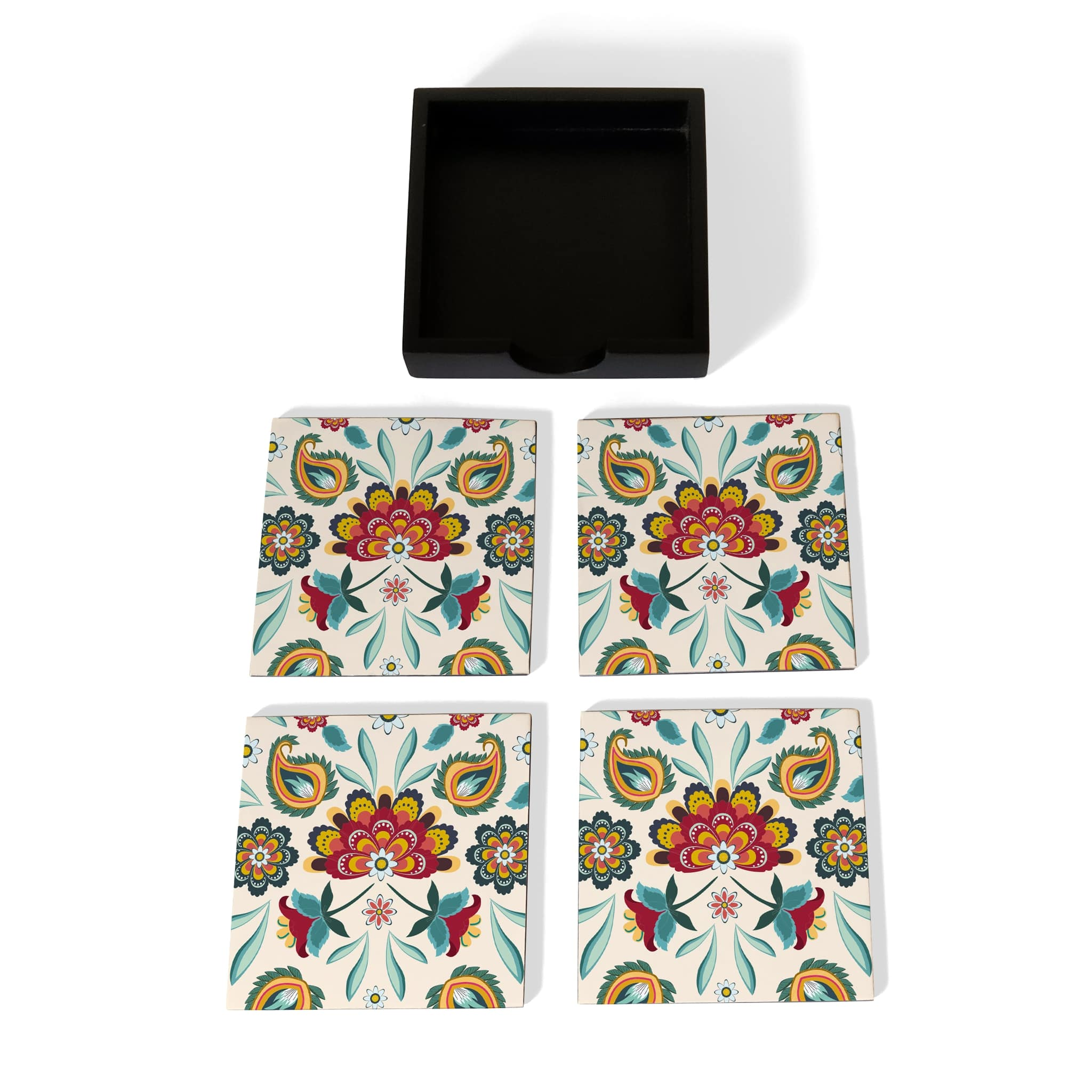 Aradhana Coaster Set with Box