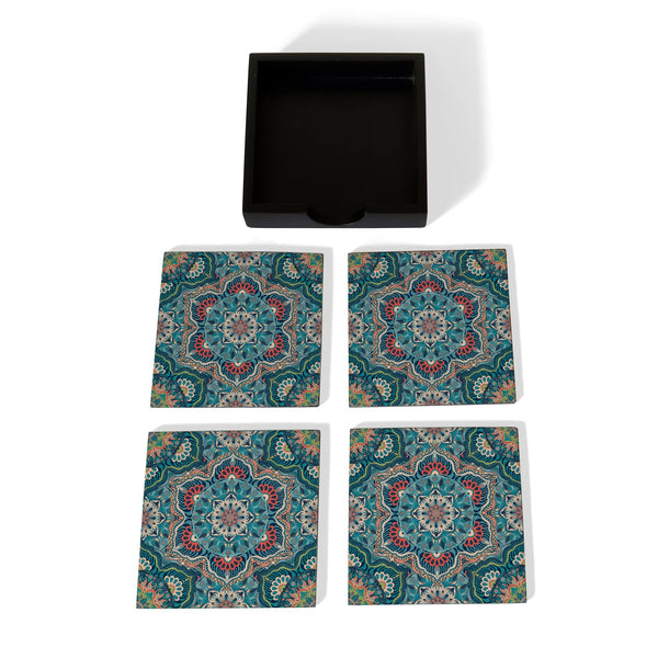 Sheesha Coaster Set with Box