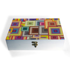Colourful Squares Box Grand