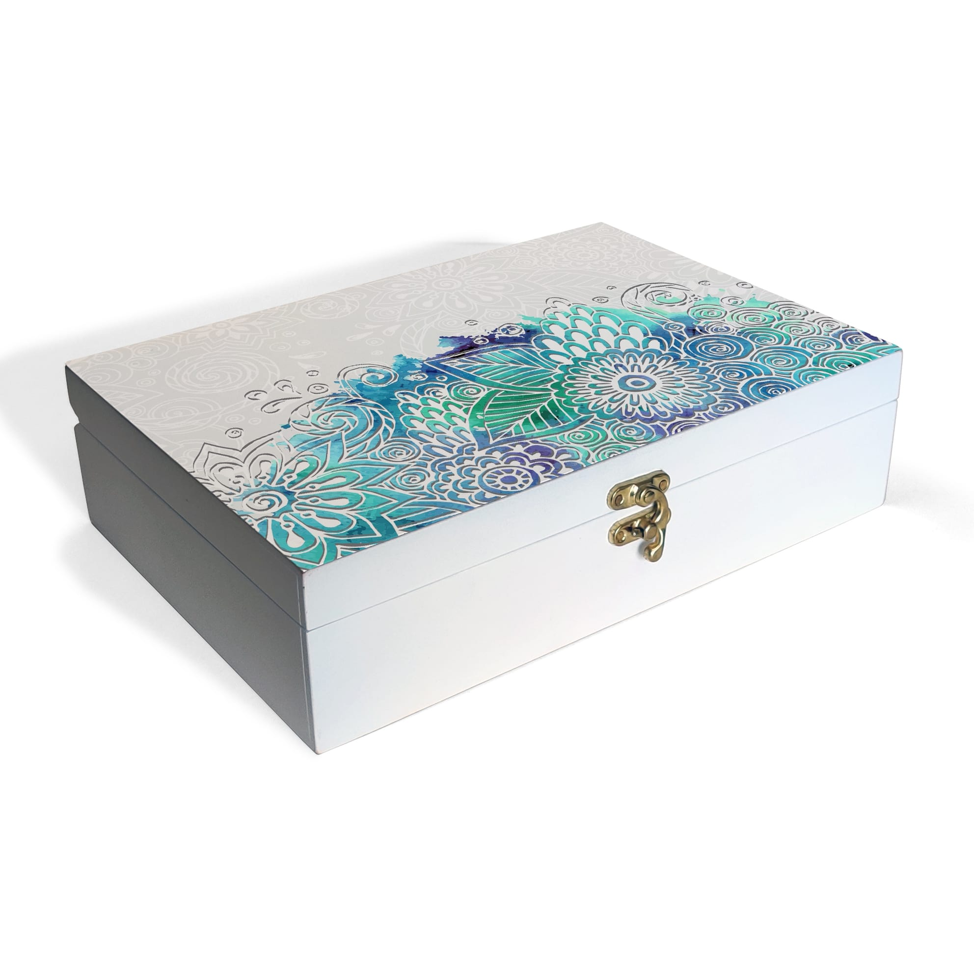 Abstract Flowers Box Grand