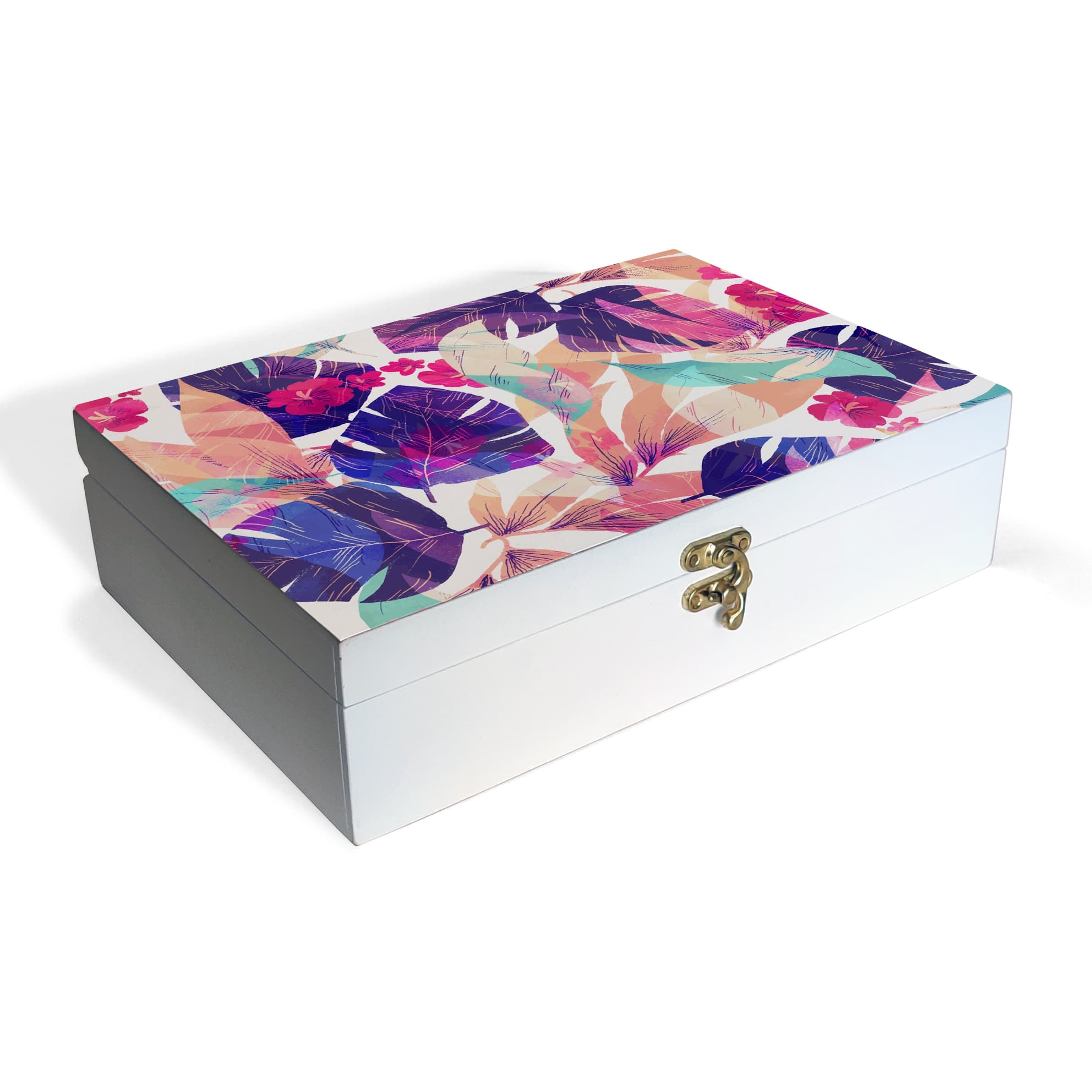 Floral Hibiscus Box Grand