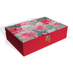 Red Chrysanthemums-R Box Grand