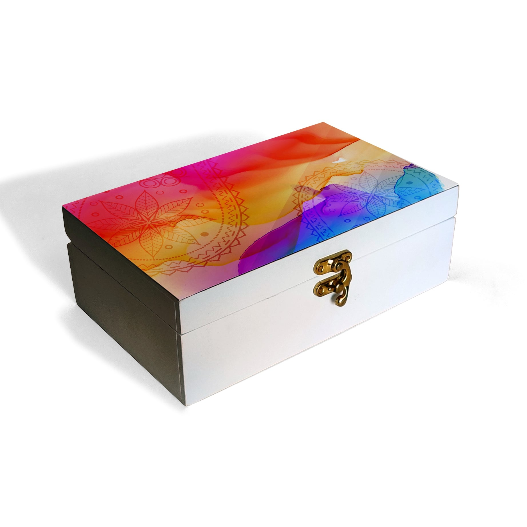 Multi Watercolour Box Moyen