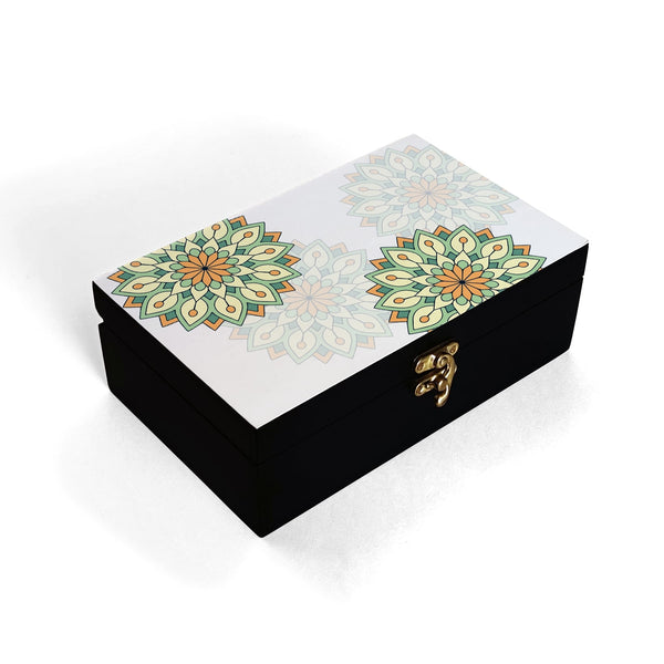 Green Mandala Box Moyen