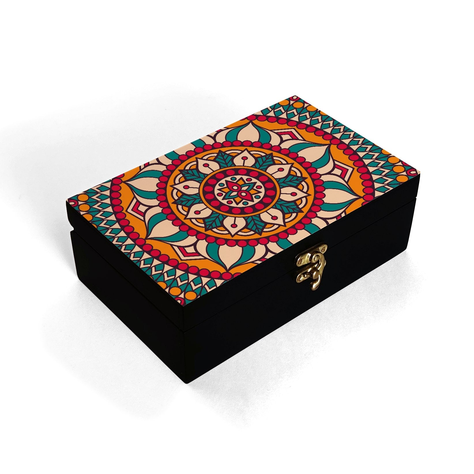 Red Mandala Box Moyen