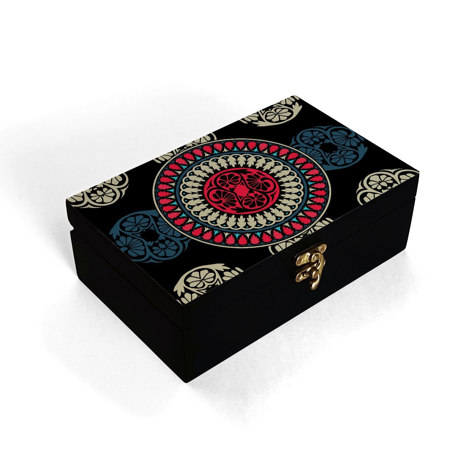 Black Mandala Box Moyen