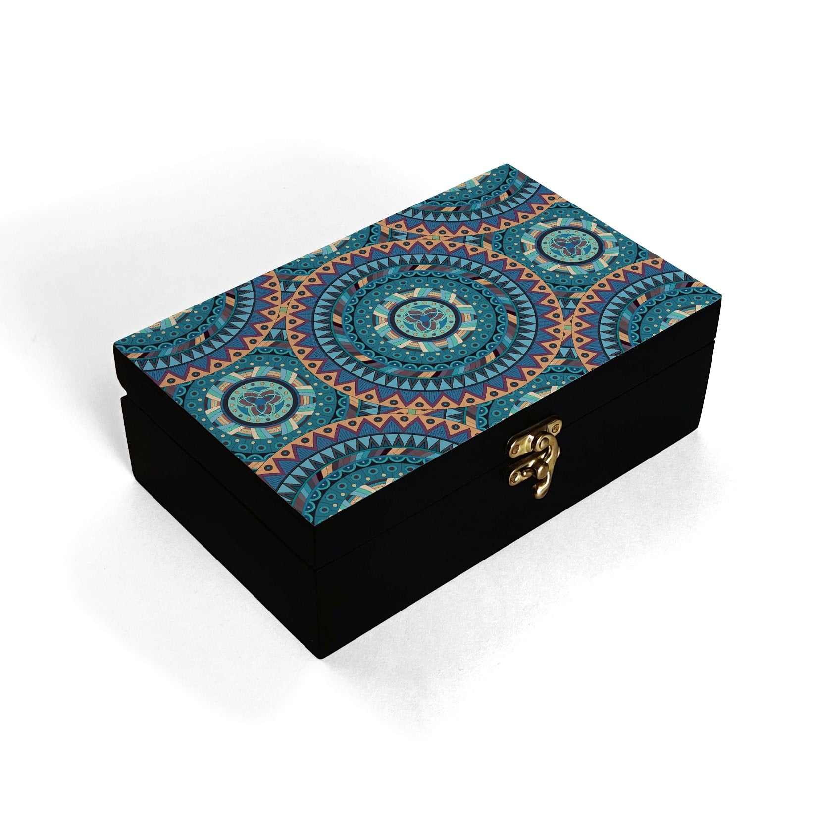 Blue Mandala Box Moyen