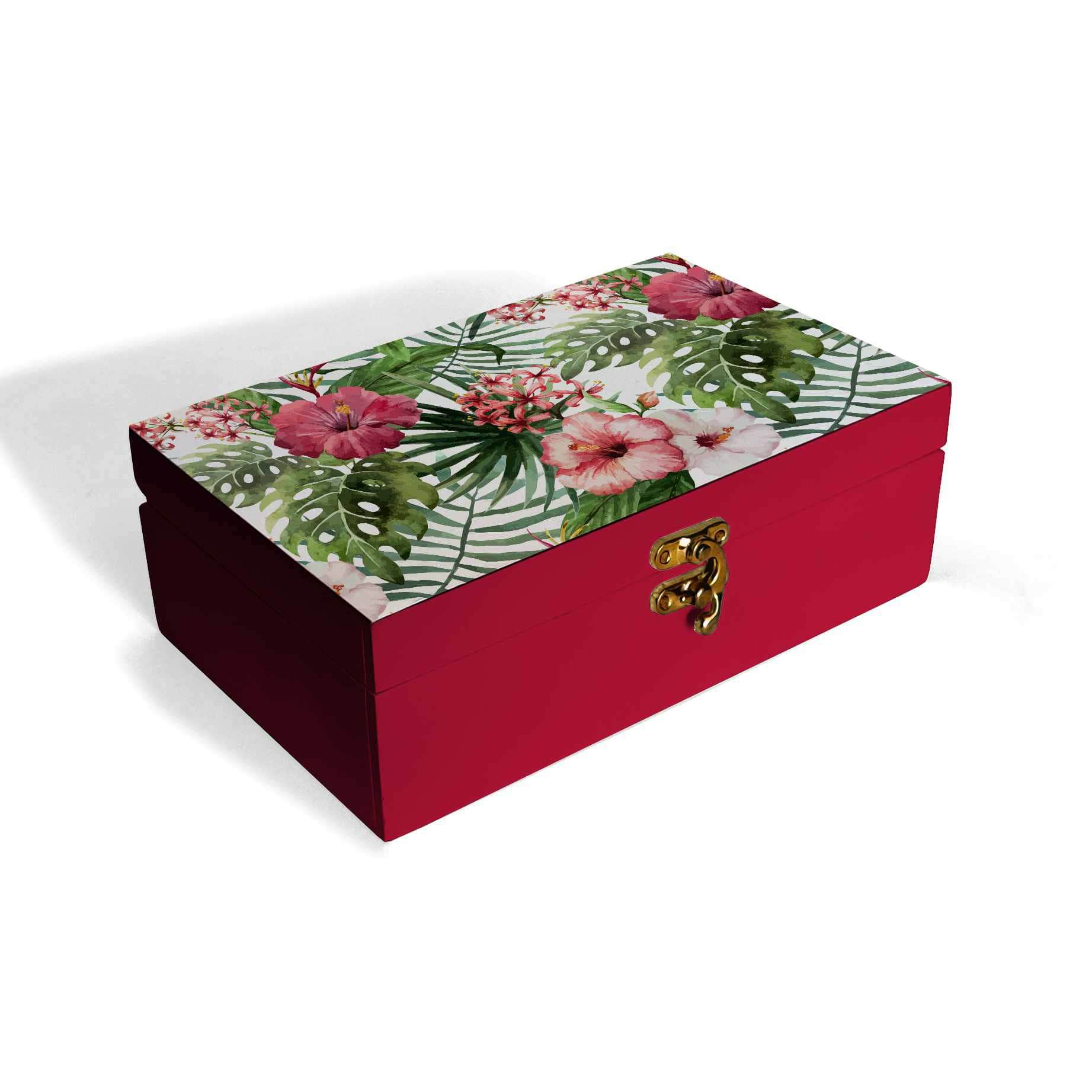 Tropical Hibiscus Box Moyen